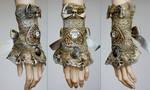 Skull cameo watch cuff