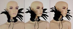Feather neck corset I