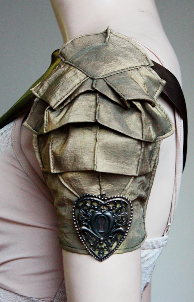 Key hole brass armor II by Pinkabsinthe