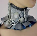 Arctic mermaid collar