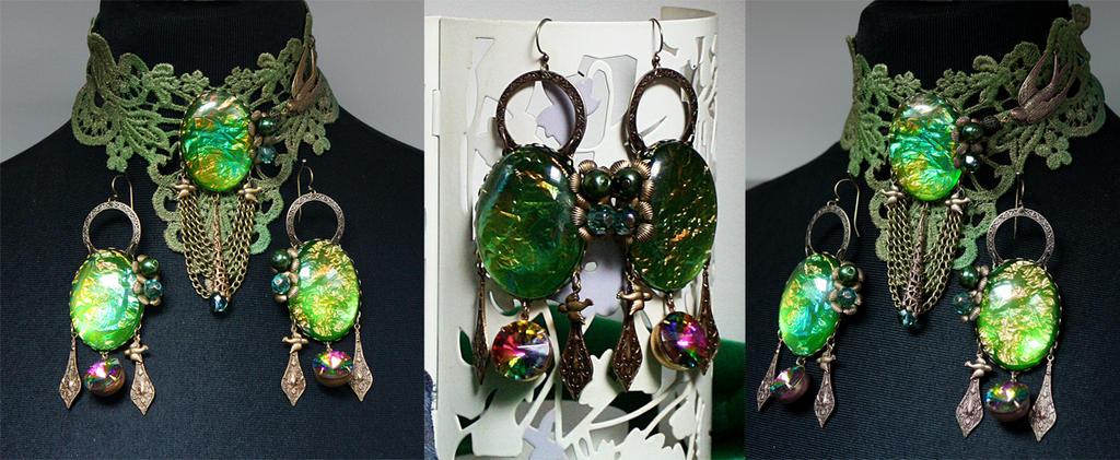 Emerald by Pinkabsinthe