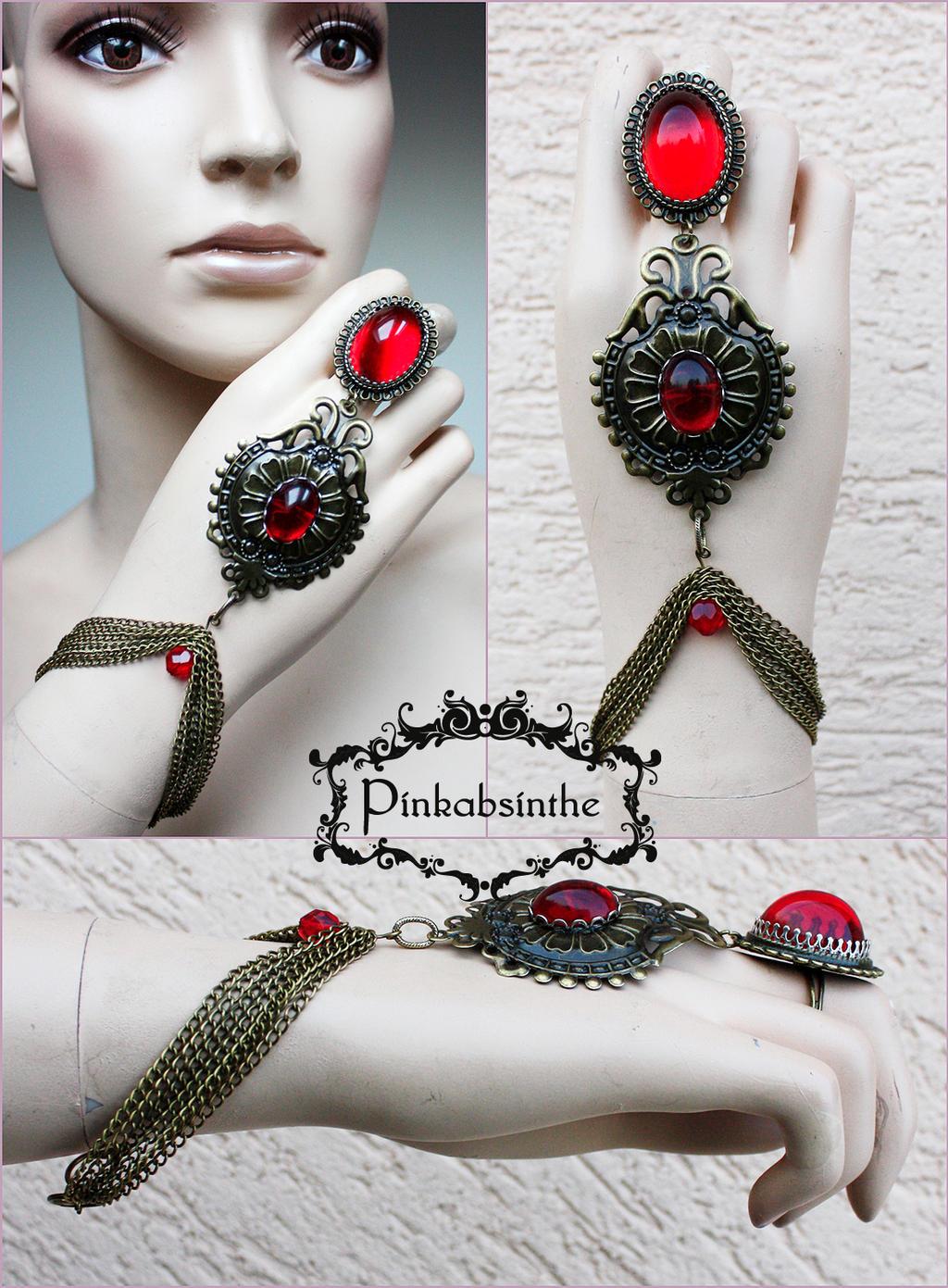 Malina Tribal_vampire_bracelet_by_pinkabsinthe-d752l5y