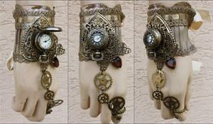Butterfly watch cuff