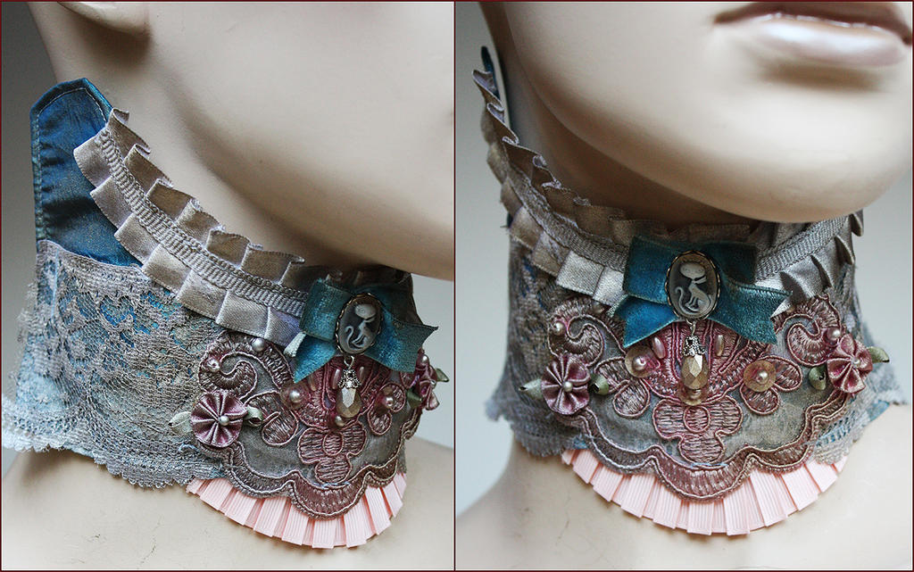 collar for Katerine Elisanth by Pinkabsinthe