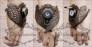 MALEFICENT winged watch cuff