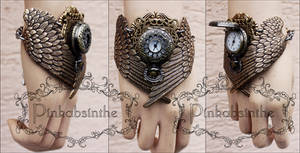 MALEFICENT winged watch cuff