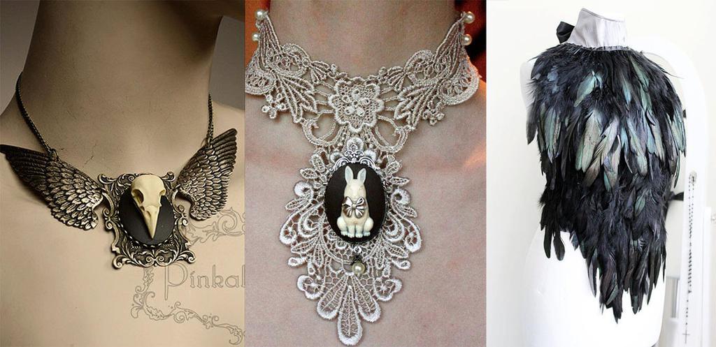 Black Friday Sale set of 3 items by Pinkabsinthe