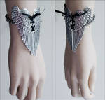 Winged bracelet