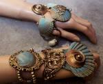 Summer collection 2016 boho shell bracelets set I