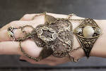 Tribal boho bracelets set II