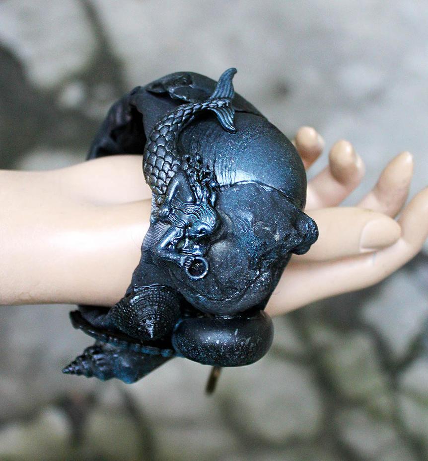 Black Mermaid II by Pinkabsinthe