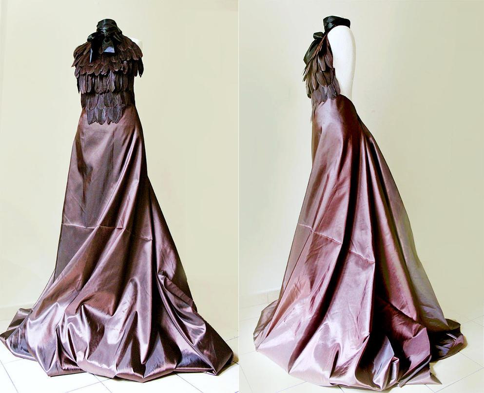Steampunk dress by Pinkabsinthe on DeviantArt