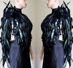 Feather Valkyrie wings sleeve long glove II