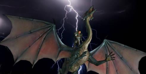 Dragon Slayer by Cherry-Wayne