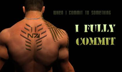 I Fully Commit ~James Vega~ by Cherry-Wayne