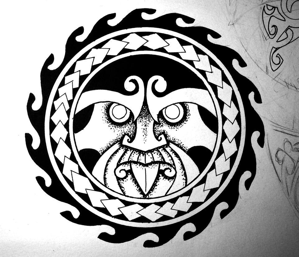 Maori Tattoo Design Wallpaper Wp300369: Maori War God By Crazyxav On DeviantArt