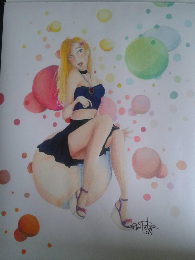 Bubblegumm lollipop by heyimdead