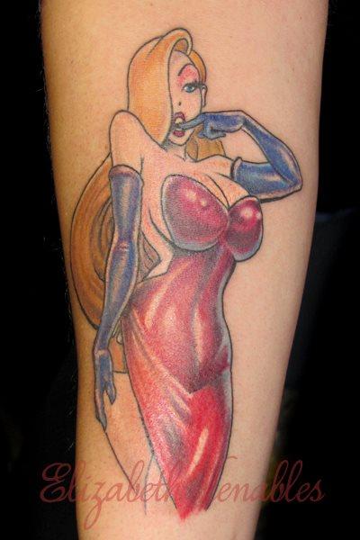 Jessica Rabbit Tattoo by Liz Venom by LizVenom