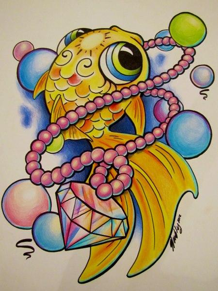 Bubblefish by Liz Venom by LizVenom