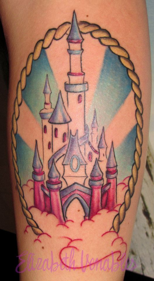 tattoo on pinterest disney tattoos disney castle tattoo and castle tattoo. Black Bedroom Furniture Sets. Home Design Ideas