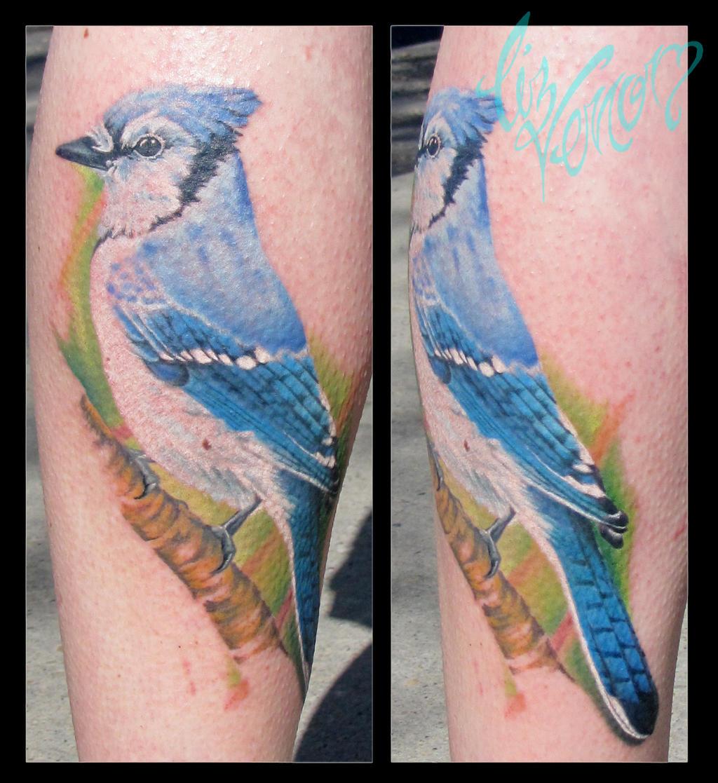 Blue jay, Liz Venom from Bombshell Tattoo Edmonton by ...