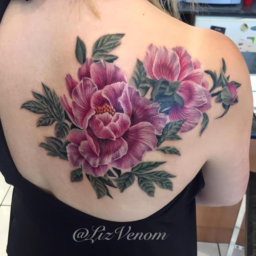 Beautiful Botanical Tattoos By Salem Witch Descendant: Beautiful Vintage Botanical Tattoo By Liz Venom By