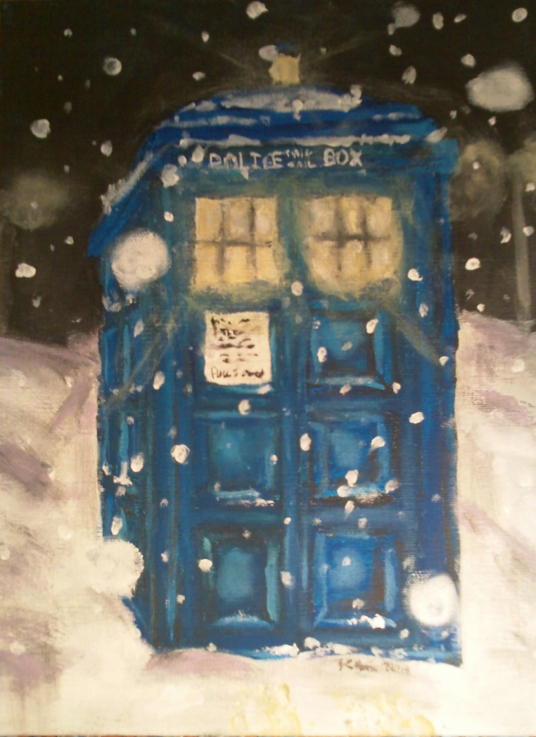 TARDIS of Many Times by silvermoon442