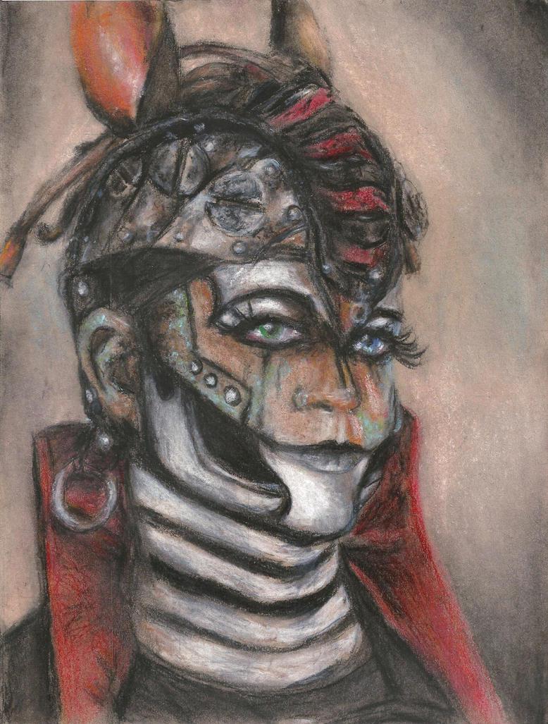 Rabbit Portrait- SPG by silvermoon442