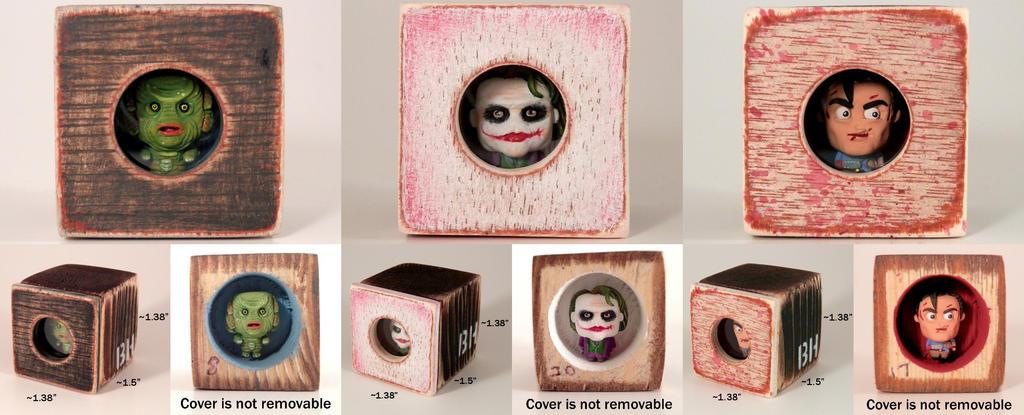 Jan '15 PEEKs (Creature, Joker, Ash) by siraudio