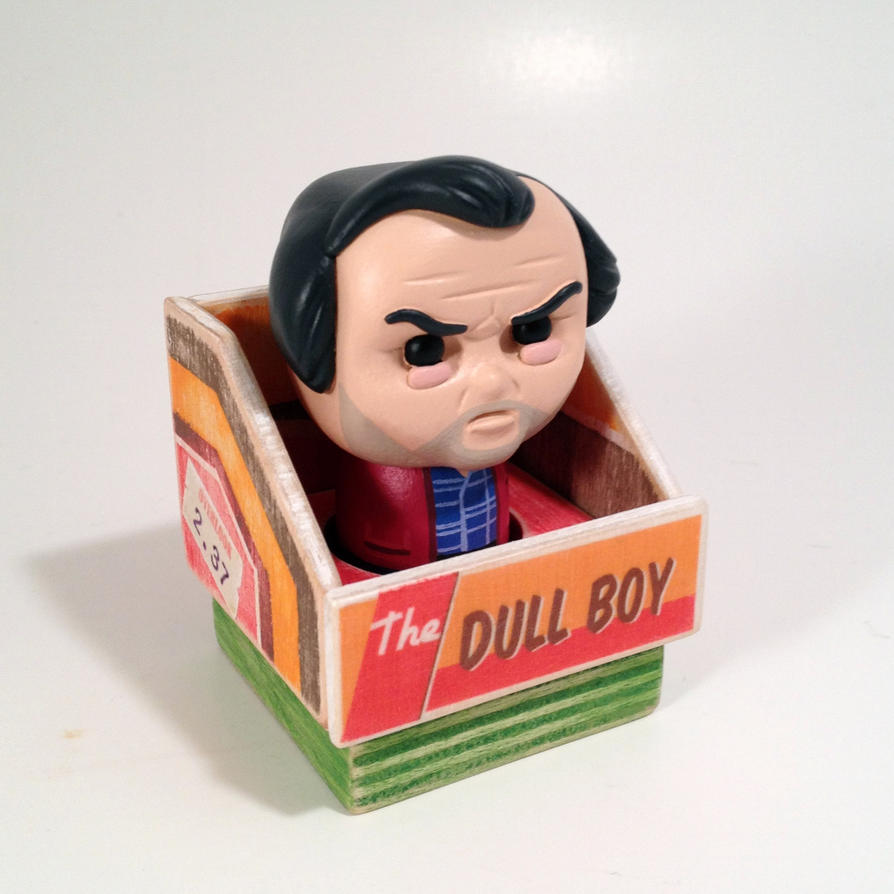 The Dull Boy (Toy) by siraudio