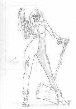 Harley Quin Sketch