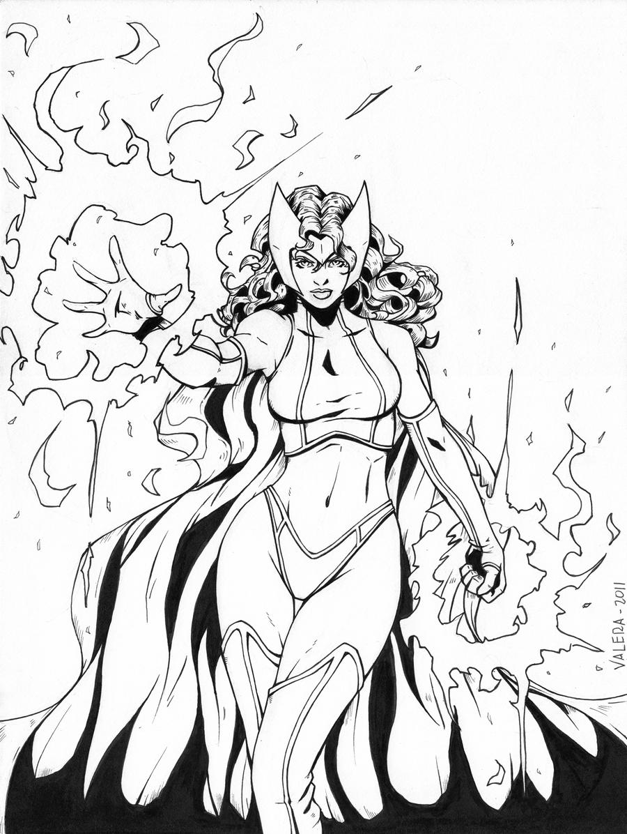 enchantress marvel coloring pages - photo#13