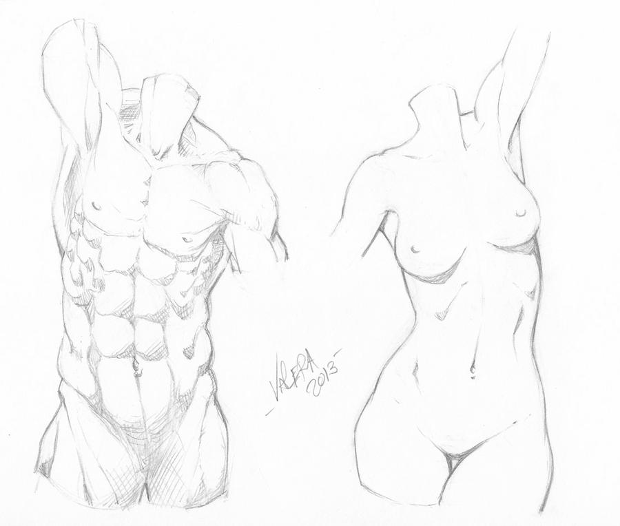Random Anatomy Sketches 9 By Rv1994 On Deviantart