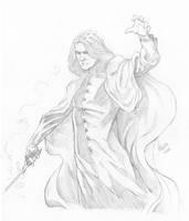 Snape Sketch by RV1994