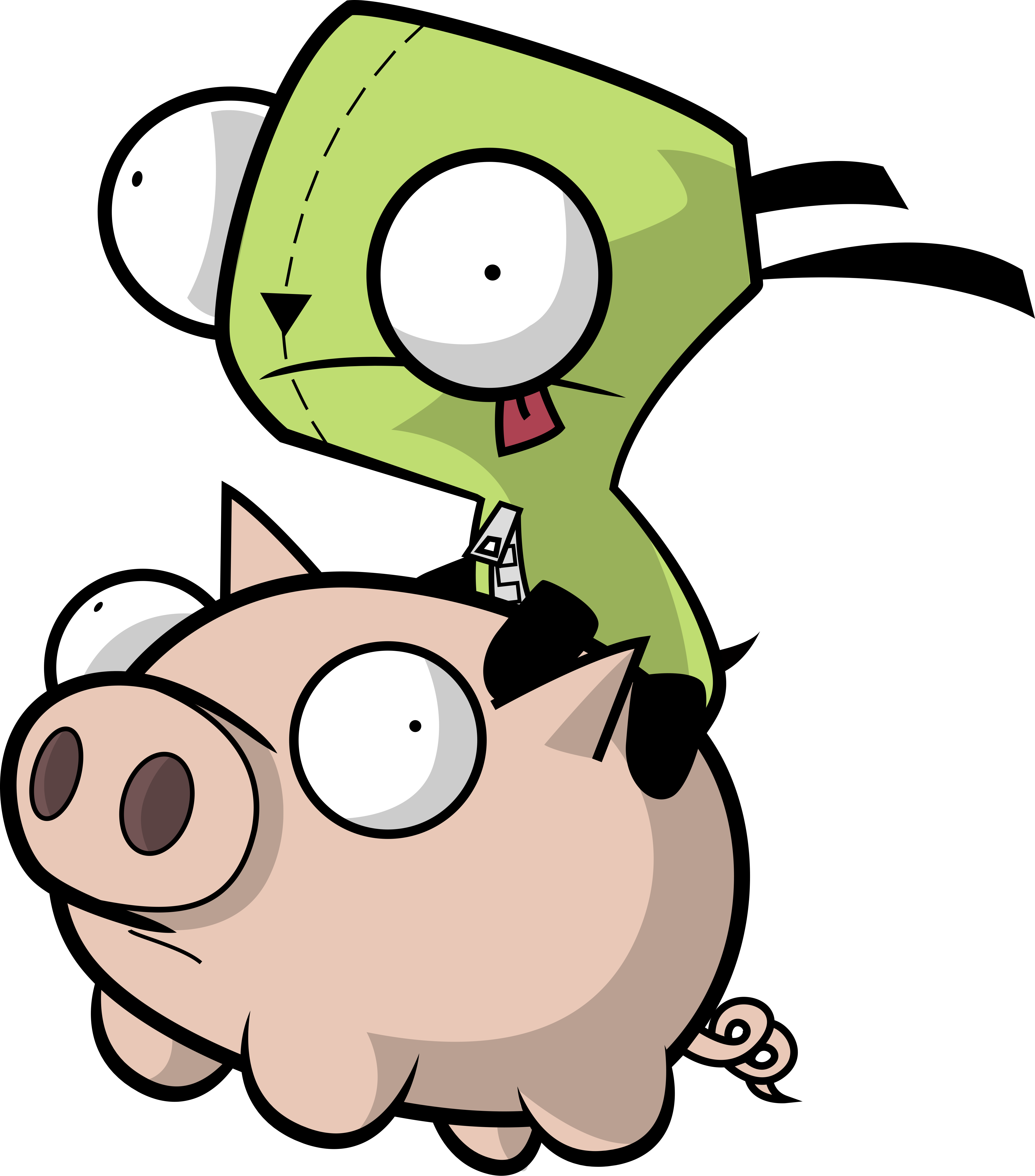 zim and gir relationship help