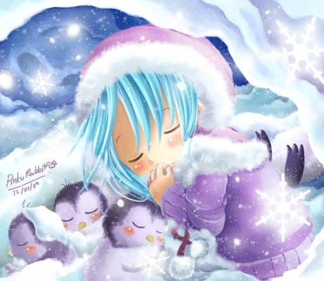 Sleeping within snowflakes