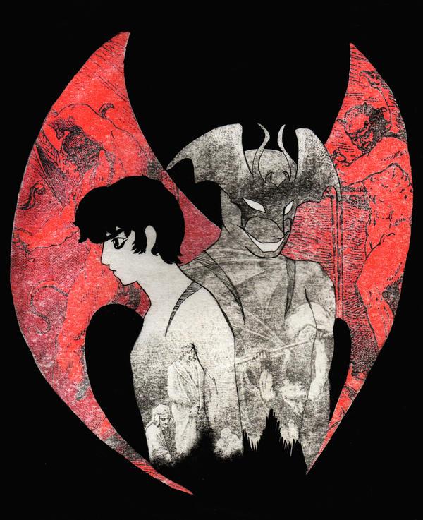 [FA] Devilman's Inferno by cyberjet-twins
