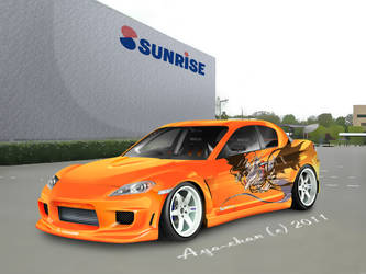 My RX-8's 'Blueprint' by NotoAyako