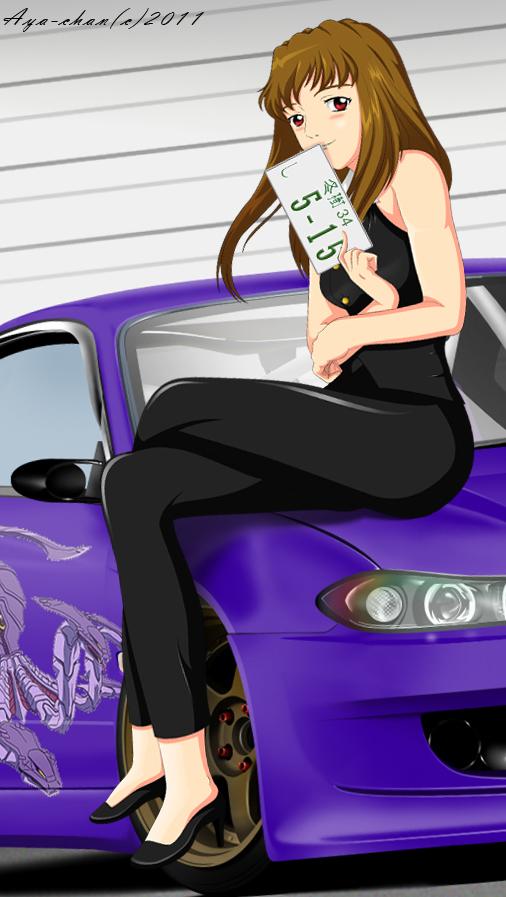Shizuru and Her S15 by NotoAyako