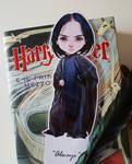 Severus Snape bookmark by Carmilla-Mircalla