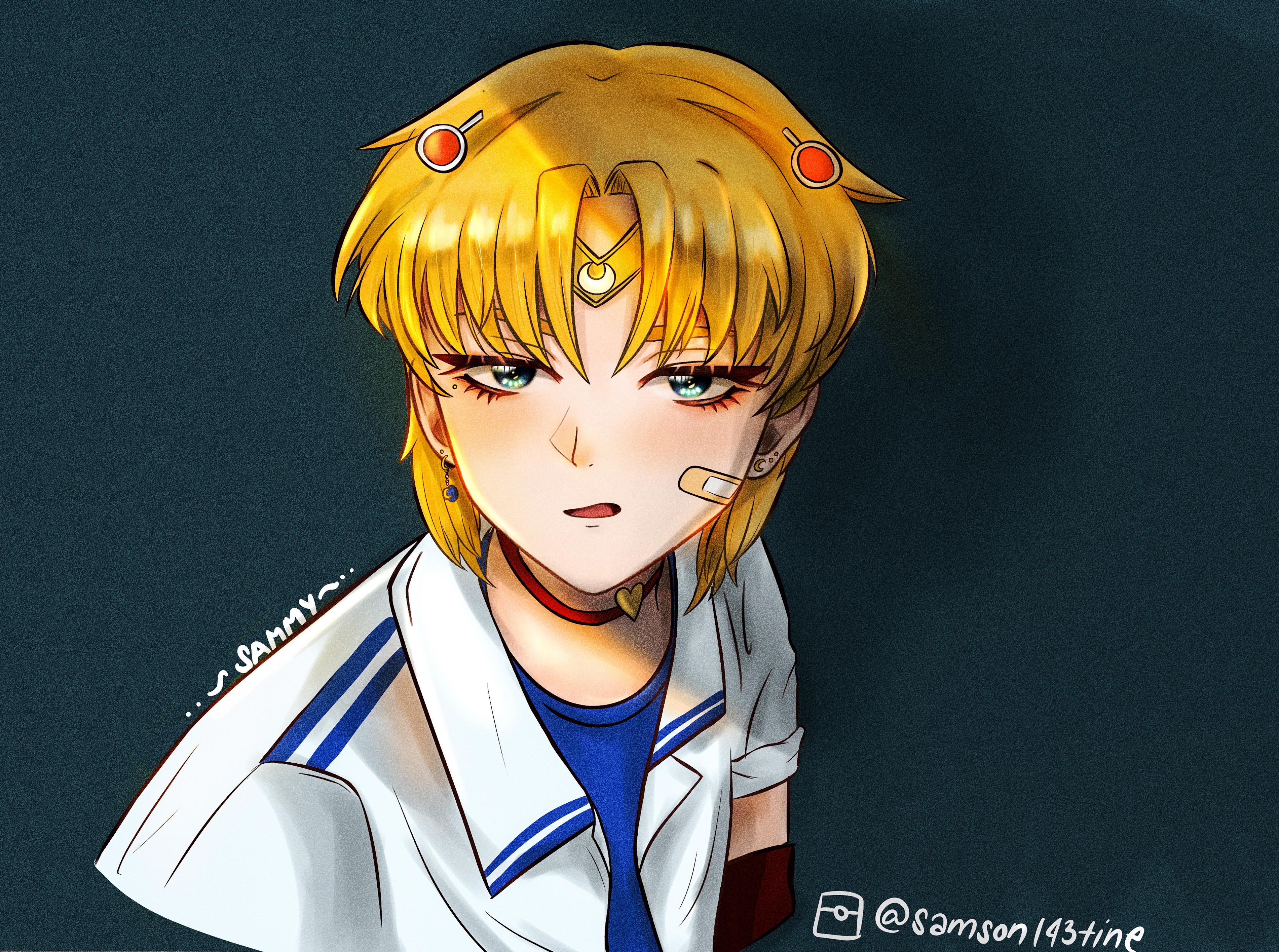 sailor moon gender bend