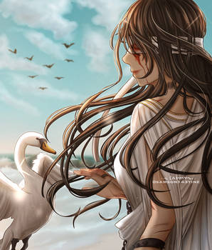 Lustitia and the White Swan