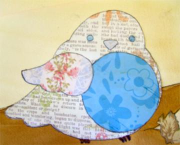 Paper Bird - Detail by Er-ca