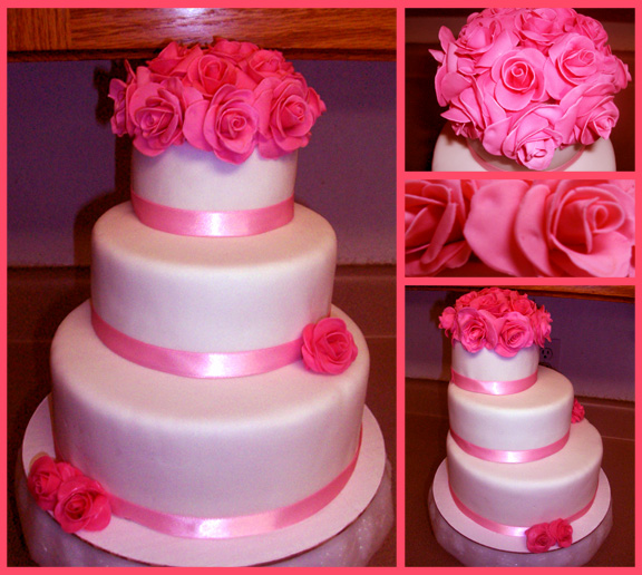 Rose Cake by Er-ca