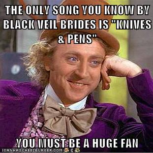 Black Veil Brides Logic by XoxoDeathToYourHeart