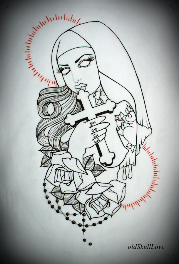 Florida Stencil Tattoo Designs