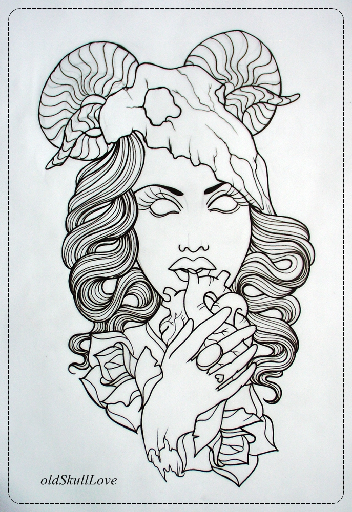 Tattoo Drawing Outline : Tattoo shop design joy studio gallery best