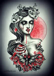 SPRING  tattoo design by MWeiss-Art