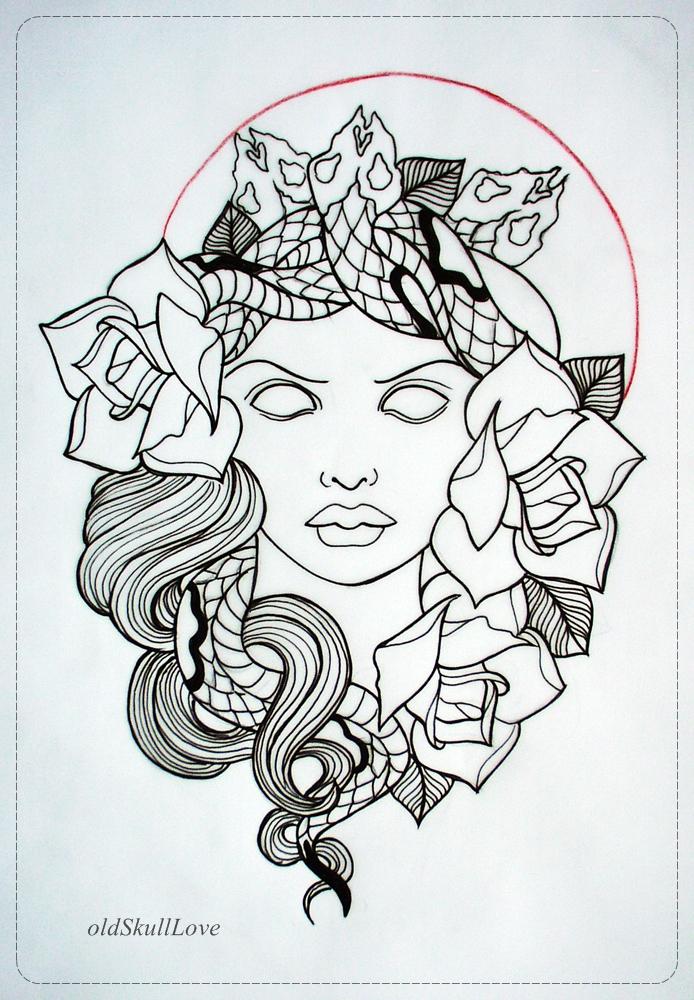 Rose Tattoo Design Outlinedenenasvalencia