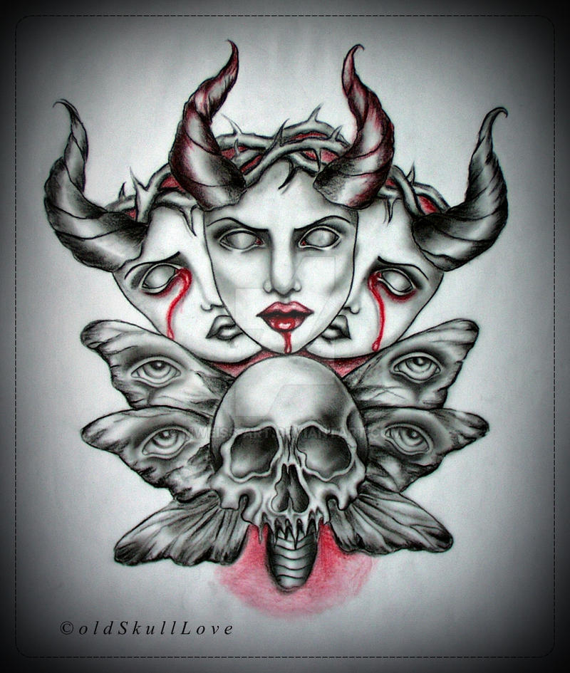 THORNS tattoo design by MWeiss-Art